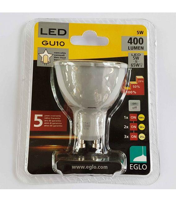 LED LEMPA 5W GU10 DIMERIUOJAMA