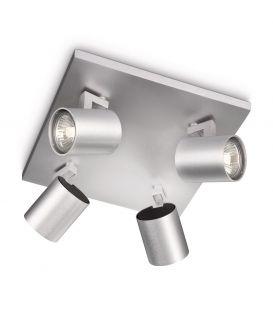 Laevalgusti RUNNER 4 Aluminium 53094/48/12
