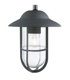 Sieninis šviestuvas WELL GLASS LANTERNS Black