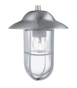Sieninis šviestuvas WELL GLASS LANTERNS Grey