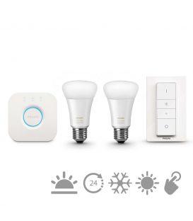 Philips HUE LED (kontroller + lüliti + 2 E27 lampi) 871870000000
