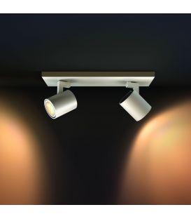 Laevalgusti RUNNER HUE LED 2 White + lüliti 871870000000
