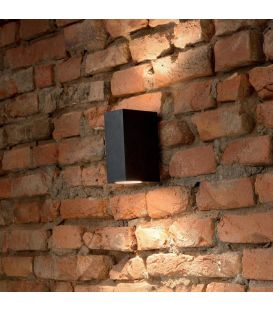 Seinavalgusti UP AP2 Nero IP44 115344