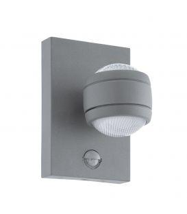 Seinavalgusti SESIMBA 1 LED Silver IP44 96019