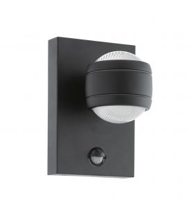 Seinavalgusti SESIMBA 1 LED Black IP44 96021