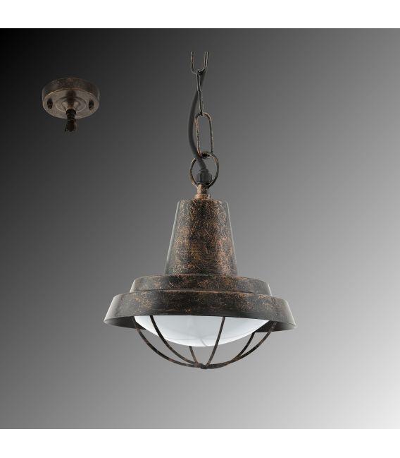 Pakabinamas šviestuvas COLINDRES Copper-antique
