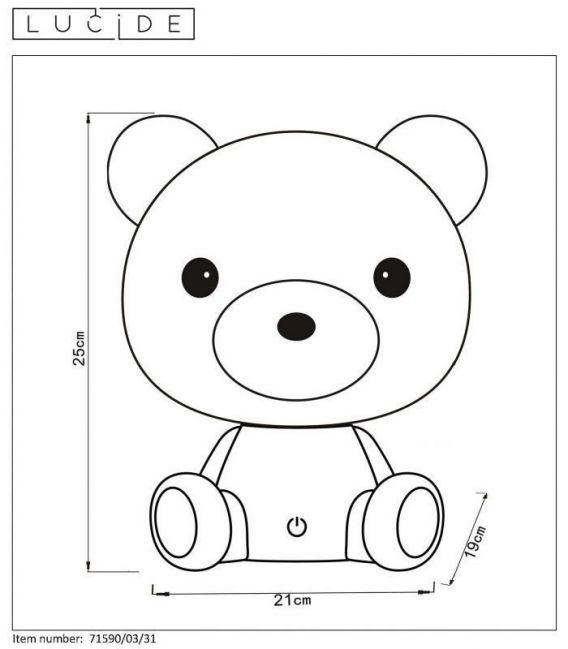Laualamp DODO Bear 71590/03/31