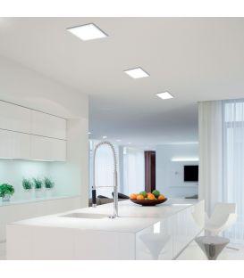 Integreeritav LED paneel FUEVA 1 10,9W IP44 Ø17 3000K