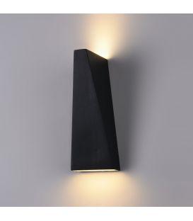 Seinavalgusti TIMES SQUARE LED Trapeze 6W Black O580WL-L6B