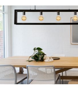 Pendant Light THOR Pilka metalo 73402/04/15