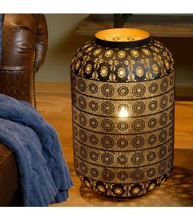 Table Lamp TAHAR Ø39 Juoda 78584/40/30