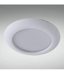 7W LED Įmontuojama panelė GAMA MINI IP44 Ø10 3000K LC1427-7W-W 006465