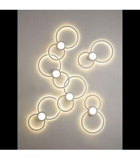 24W LED sieninis šviestuvas MURAL Square 6231