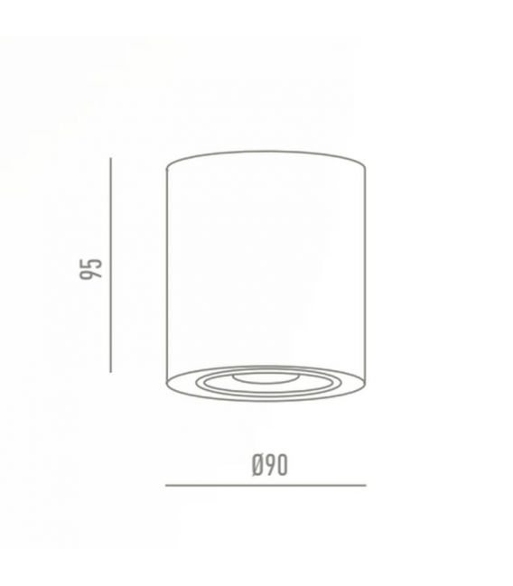 Laevalgusti JAXON LED White Ø7,5 4157300