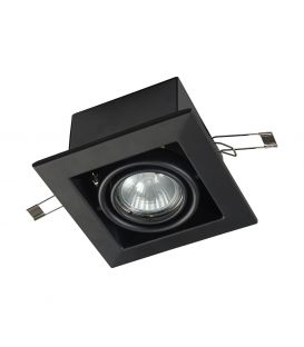 Integreeritav kipsvalgusti METAL MODERN Black DL008-2-01-B