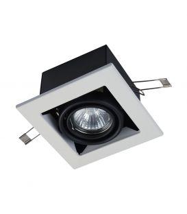 Integreeritav kipsvalgusti METAL MODERN White DL008-2-01-W