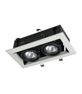 Integreeritav kipsvalgusti METAL MODERN 2 White DL008-2-02-W