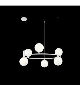 Rippvalgusti RING White MOD013PL-06W