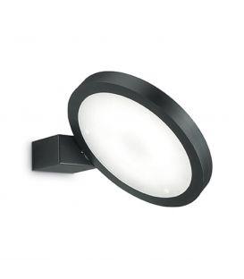 15W LED seinavalgusti FLAP AP1 ROUND Black 155401