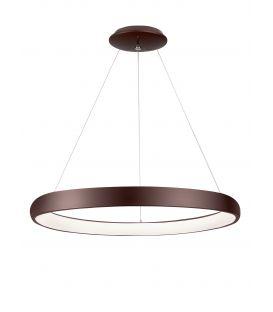 80W LED Rippvalgusti ALBI Coffee Brown Ø81 8105609