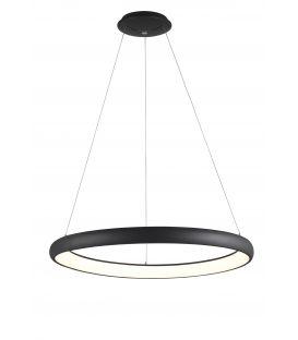 80W LED Rippvalgusti ALBI Black Ø81 Dimmerdatav 8105604D