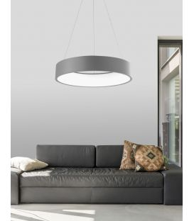 Rippvalgusti RANDO LED Ø60 Coffee Brown 6167209