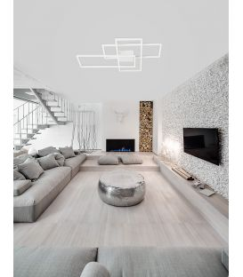 55W LED Lubinis šviestuvas Bilbao White 9977001
