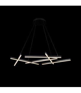 80W LED Lubinis šviestuvas LINE Black MOD015CL-L80B