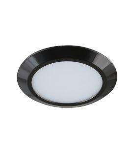 7W LED Integreeritav valgusti GAMA MINI Black Ø9.5 IP44 LC1453 YLD-017485