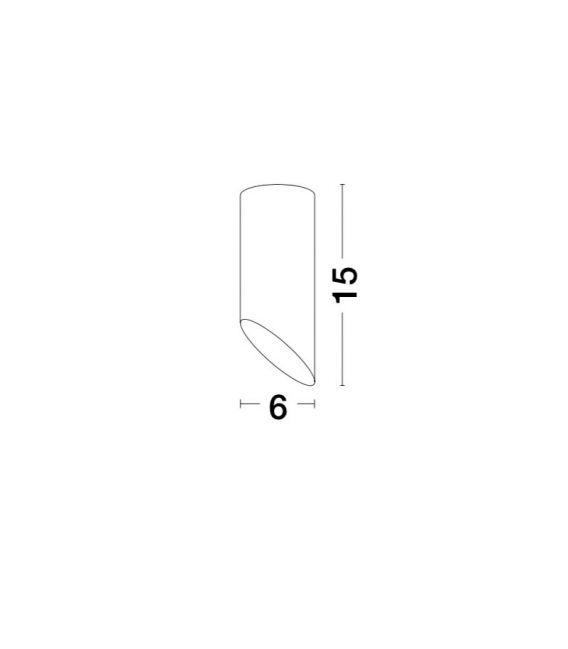Lubinis šviestuvas OSLO White H15 9184371