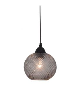 Rippvalgusti PORTO 1 Dark Grey Glass 8103993