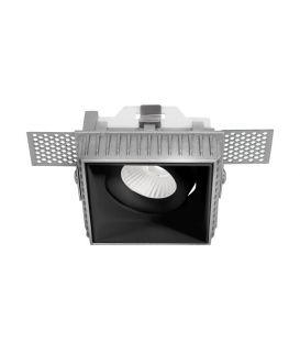 Integreeritav valgusti BRAD Square Black 9000352