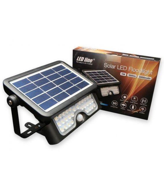 5W LED Sieninis šviestuvas SOLAR 249389
