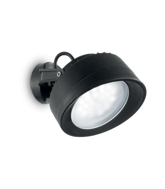 Sieninis šviestuvas TOMMY Black IP66 145341