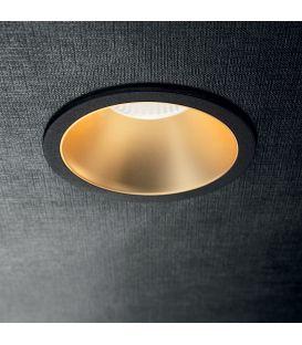 12W LED Süvistatav valgusti GAME ROUND Black Gold 192345
