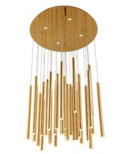45W LED Rippvalgusti ORGANIC Gold P0242