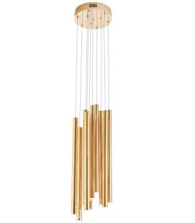 10W LED Rippvalgusti ORGANIC Gold P0265