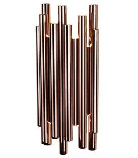 8W LED Seinavalgusti ORGANIC Copper W0153