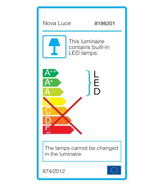 Lubinis šviestuvas DARIUS White 8186201