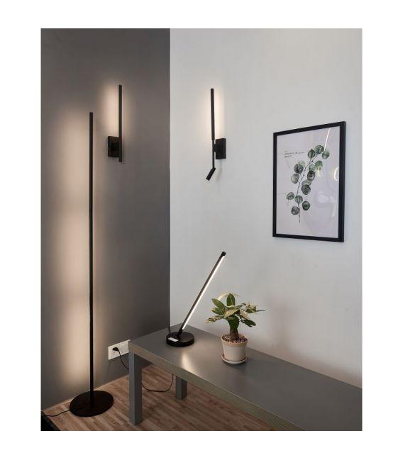 6W LED Sieninis šviestuvas TORCH Black 6701