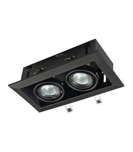 Integreeritav valgusti METAL MODERN 2 Black DL008-2-02-B