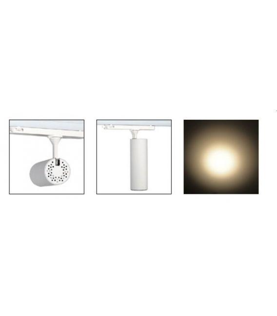 33W LED Siinivalgusti Iluminacion 3F 3000K Ø7.2 YLD-LC005-FB
