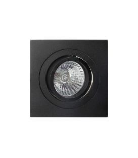 Süvistav valgusti BASICO Black C0008