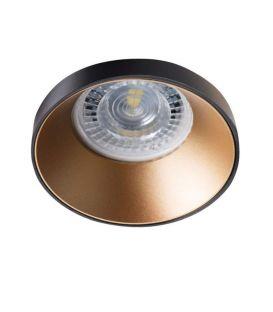 Integreeritav valgusti SIMEN DSO Gold/Black 29137