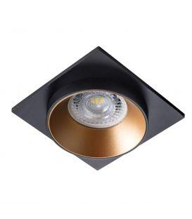 Integreeritav valgusti SIMEN DSL Black/Gold 29134
