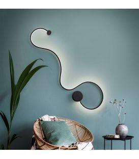 19.5W LED Seinavalgusti GRAFOS Black 227018