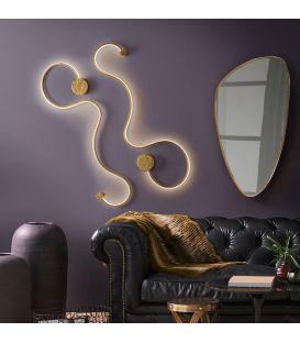 19.5W LED Seinavalgusti GRAFOS Gold 227032