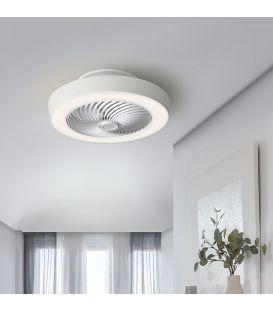 45W LED Ventilaatoriga valgustid VENTILUZ Dimmerdatav 137263