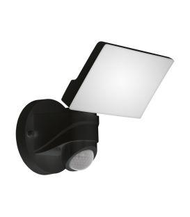 13W LED Liikumisanduriga valgusti PAGINO Black IP44 98178