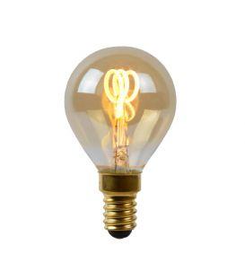LED PIRN 3W E14 Dimmerdatav Amber Ø4.5 49046/03/62